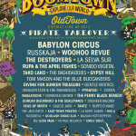 BoomTown Fair Amended Stage Time