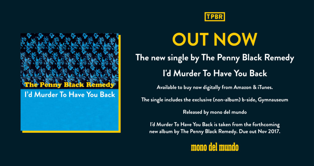 Murder Single Banner OUT NOW - Small